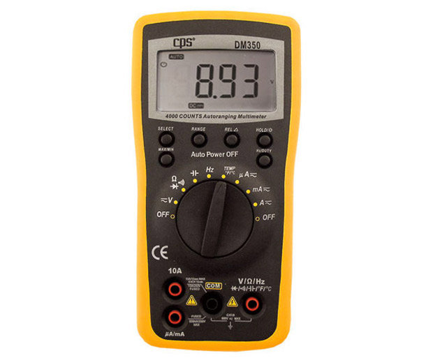 CPS-DM350 - CPS DM350 DIGITAL MULTIMETER