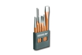 GED-8725200 - GEDORE CHISEL AND PUNCH SET IN PVC STAND - 6 PIECES